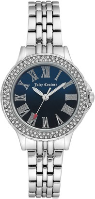 Juicy Couture Watch w/Navy Blue Dial