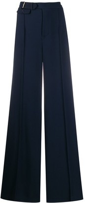 Elisabetta Franchi belted wide leg trousers
