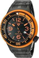 Swiss Legend Men's 'Neptune Force' Quartz Stainless Steel Casual Watch (Model: 21819P-BB-11-OBS)