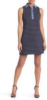Eliza J Striped Striped Tank Dress (Petite)