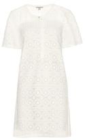 Burberry Alanna Macramé Lace Shirt Dress