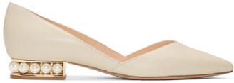 Nicholas Kirkwood Off-White Casati DOrsay Ballerina Flats