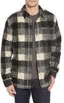 True Grit Men's Textured Buffalo Check Shirt Jacket
