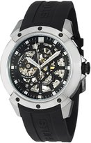 Stuhrling Original Men's 539.33161 Leisure Gen-X Crucible XT Automatic Skeleton Rubber Strap Watch