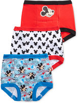 Mickey Mouse Training Briefs, 3-Pack, Toddler Boys (2T-4T)
