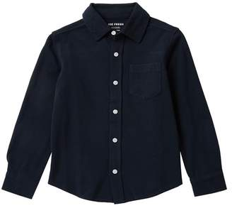 Joe Fresh Solid Long Sleeve Shirt (Big Boys)