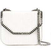 Stella McCartney crocodile-effect Falabella box shoulder bag - women - Polyurethane/Metal (Other) - One Size
