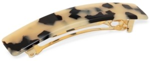 The Finest Accessories France Luxe Gold-Tone & Colored Acetate Hair Barrette