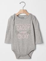 Gap Mommy & daddy bodysuit
