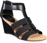 Alfani Women's Step 'N Flex Pearrl Wedge Sandals, Only at Macy's