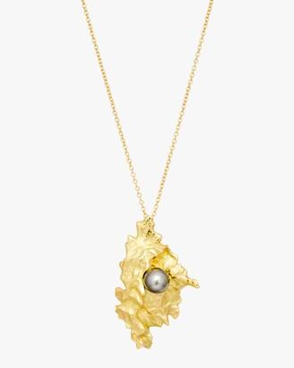 Haute Victoire Tahitian Pearl Pendant Necklace