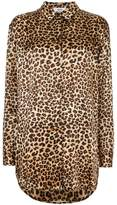 Mads Norgaard leopard printed blouse