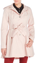 Betsey Johnson Belted Trench Coat