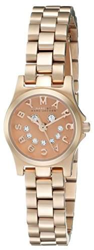 Marc by Marc Jacobs Women's MBM3387 Rose Gold-Tone Bracelet Watch