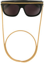 Stella McCartney Falabella oversized sunglasses - women - plastic - One Size