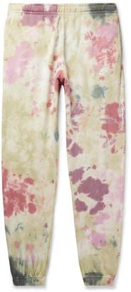 Nike Sportswear Tapered Tie-Dyed Loopback Cotton-Blend Jersey Sweatpants