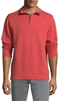 Brooks Brothers Ribbed Cotton Half-zip Sweater