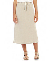 Eileen Fisher Straight Pull-On Skirt
