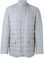 Brunello Cucinelli padded shirt jacket