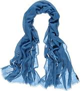 Fraas Women's Casual Looks Scarf - Blue -