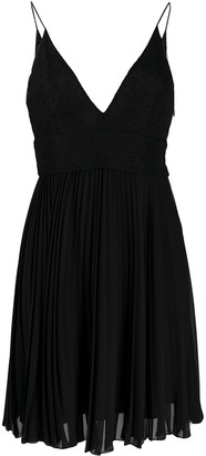 Givenchy lace pleated dress
