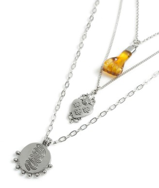 Topman Layered Pendant Necklace*