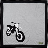 Amber Hagen Motorcycle Cotton-Cashmere Baby Blanket