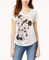 Hybrid Disney Juniors' Mickey and Minnie Mouse Graphic T-Shirt