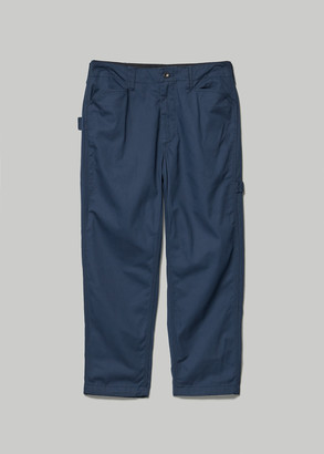 Engineered Garments Women's Painter Pant in Navy Flat Twill Size XS