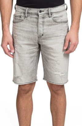 PRPS Distressed Jean Shorts