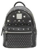 MCM 'X-Mini Stark - Bebe Boo' Studded Leather Backpack - Black