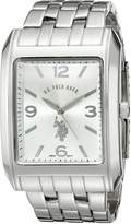 U.S. Polo Assn. Men's Rectangular Dial Bracelet Watch USC80020