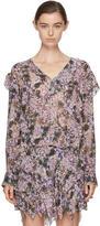 Etoile Isabel Marant Purple Jelby Blouse