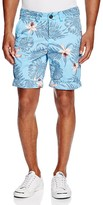 Superdry International Palm Orchid Print Chino Shorts