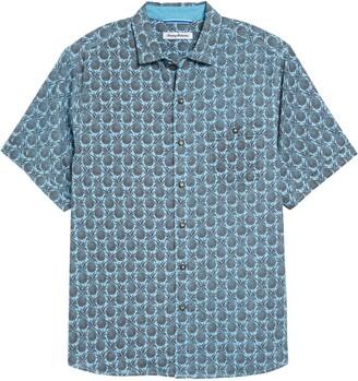 Tommy Bahama Fine Apple Short Sleeve Button-Up Shirt
