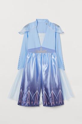 H&M Elsa Costume Dress - Blue
