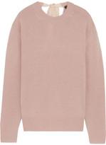 Joseph Tie-back Cashmere Sweater - Blush
