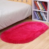 WEN Cute bedroom bed blanket/ thick oval carpet/ livin room coffee table carpets