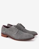 Classic Suede Derby Shoes