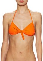 Shoshanna Solid Triangle Bikini Top