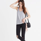 Madewell Whisper Cotton Scoop Tank Top