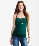 Aeropostale Solid Shelf Bra Cami