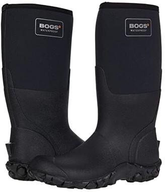 Bogs Mesa Solid Tall (Black) Men's Boots