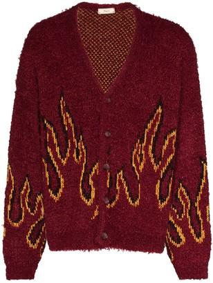 Iroquois Flame Pattern Cardigan