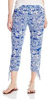 O'Neill Junior's Terry Printed Woven Soft Pant