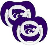 Baby Fanatic Kansas State Wildcats Purple Infant Pacifier Set - 2015 NCAA Baby Pacifiers
