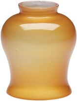 Rejuvenation Colonial Amber Frosted Bell Shade