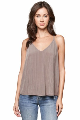 Sugar Lips Sugarlips Women's Now and Then Ribbed Knit Cami
