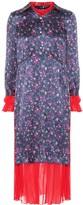 Junya Watanabe Layered midi dress