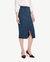 Ann Taylor Geo Jacquard Pencil Skirt
